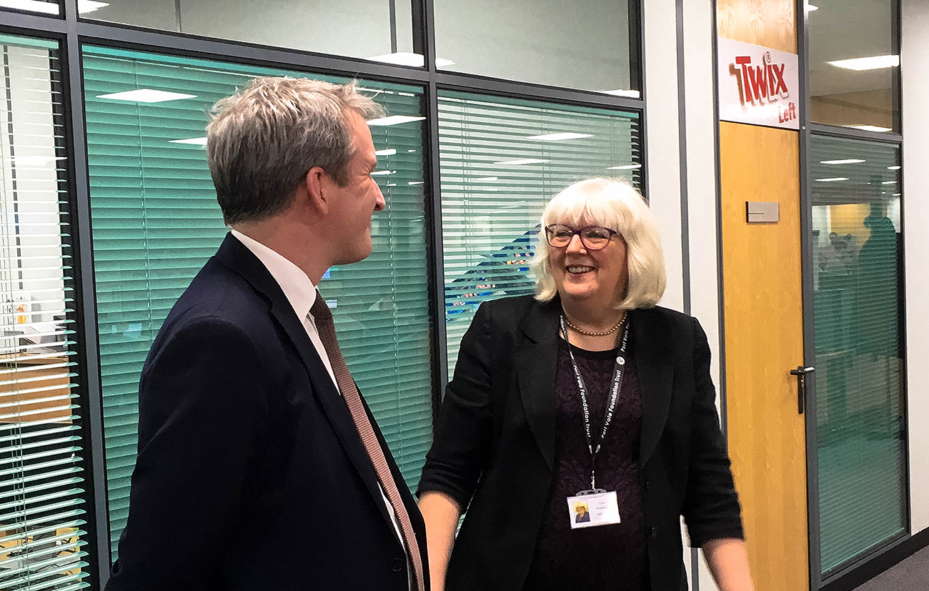Synectics Managing Director & The Secretary of State for Education