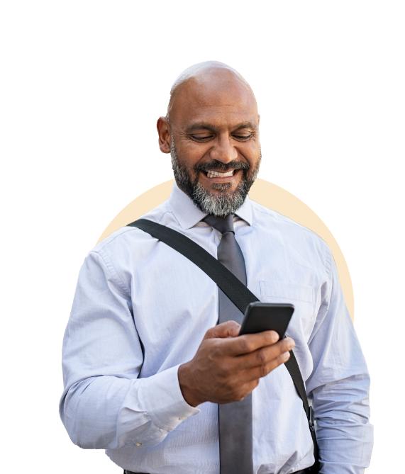 Intro-image-man using smartphone